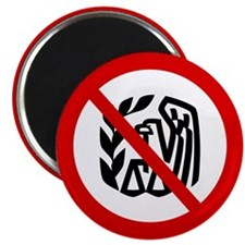 "No IRS 2.25"" Magnet (10 pack)"