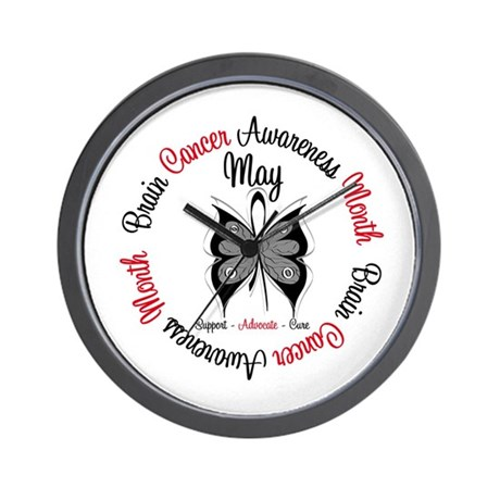 BrainCancerAwarenessMonth Wall Clock