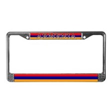 Armenia Armenian Blank Flag License Plate Frame