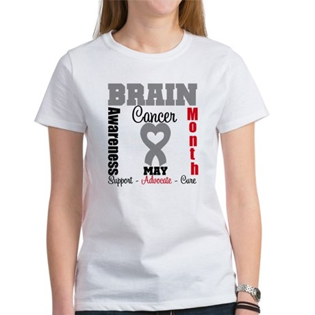 Brain Cancer Month Women's T-Shirt