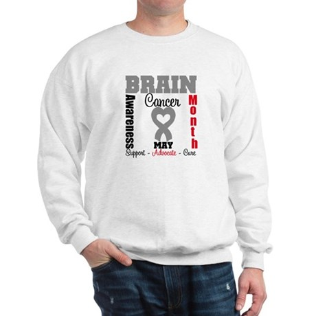 Brain Cancer Month Sweatshirt