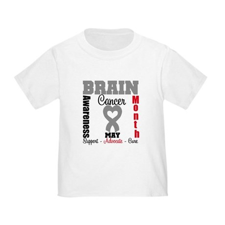 Brain Cancer Month Toddler T-Shirt