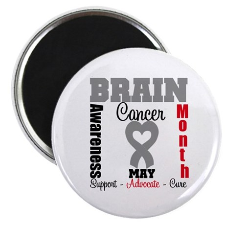Brain Cancer Month Magnet