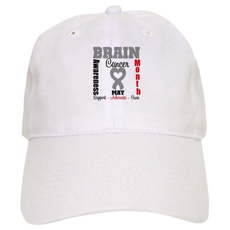 Brain Cancer Month Cap