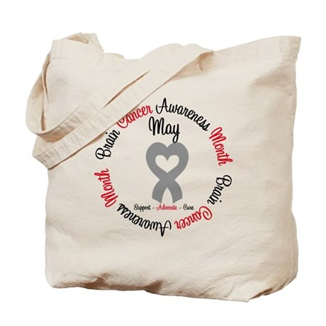 BrainCancerMonth May Tote Bag