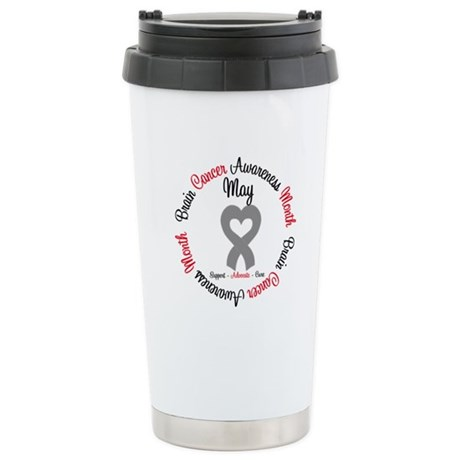 BrainCancerMonth May Ceramic Travel Mug