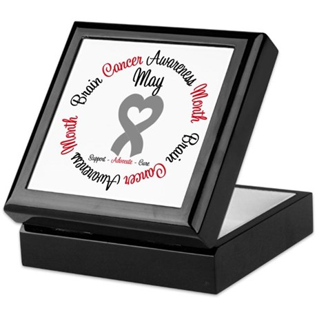 BrainCancerMonth May Keepsake Box
