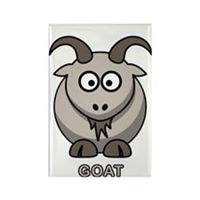 Cartoon Goat Rectangle Magnet