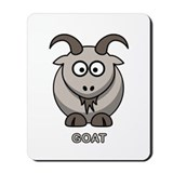 Cartoon Goat Mousepad
