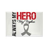 BrainCancerHero Nephew Rectangle Magnet (10 pack)