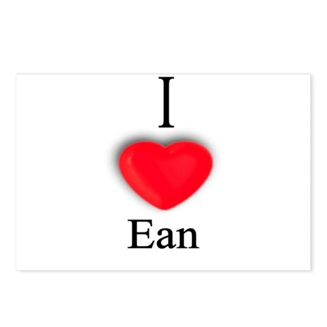 Ean Postcards (Package of 8)