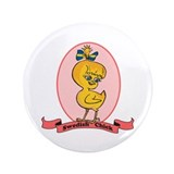 "Swedish Chick 3.5"" Button (100 pack)"