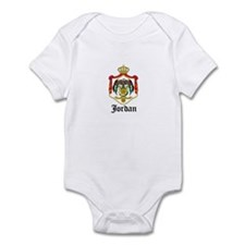Jordanian Coat of Arms Seal Infant Bodysuit