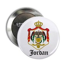 "Jordanian Coat of Arms Seal 2.25"" Button (10 pack)"