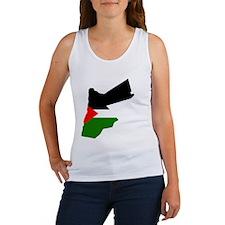 Jordan Flag Map Women's Tank Top