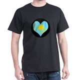 I love Kazakhstan Flag T-Shirt