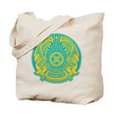 Kazakhstan Coat of Arms Tote Bag