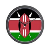 Kenyan Wall Clock