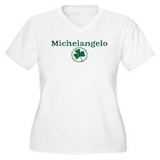 Michelangelo shamrock T-Shirt