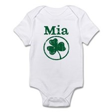 Mia shamrock Infant Bodysuit