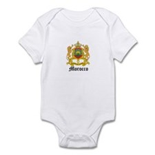Moroccan Coat of Arms Seal Infant Bodysuit