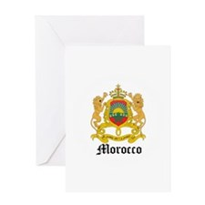 Moroccan Coat of Arms Seal Greeting Card