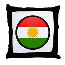 Kurdistan Throw Pillow