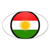 Kurdistan Oval Decal