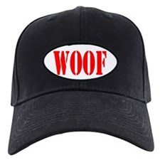 Woof Daddy Black Baseball Cap Hat