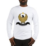 Kurdistan Coat of Arms Long Sleeve T-Shirt