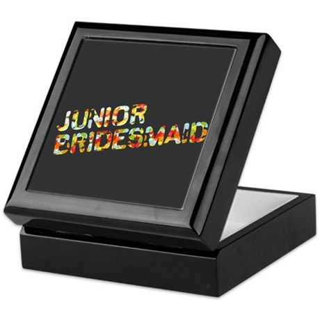 Funky Bubbles Jr Bridesmaid Keepsake Box