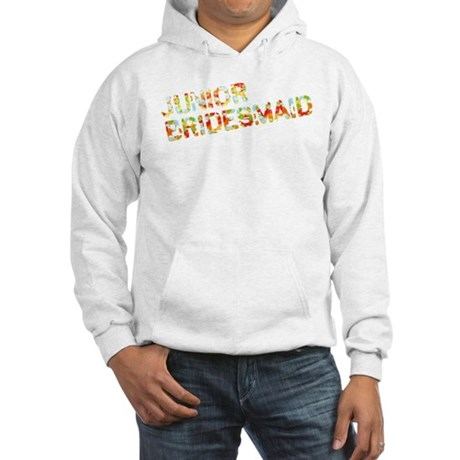 Funky Bubbles Jr Bridesmaid Hooded Sweatshirt