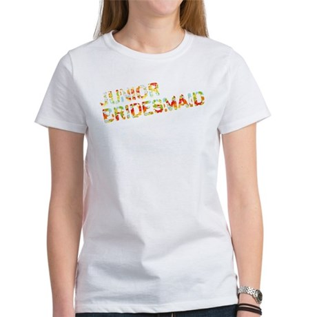 Funky Bubbles Jr Bridesmaid Women's T-Shirt