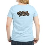 Women's Light T-Shirt Print on Back