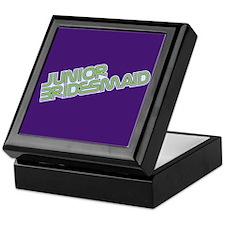 Streamline Green Jr Bridesmai Keepsake Box
