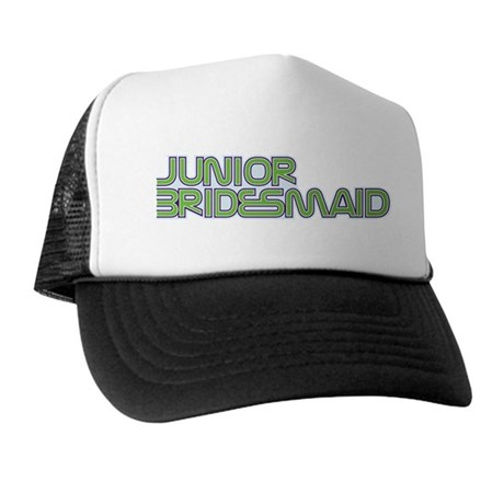 Streamline Green Jr Bridesmai Trucker Hat