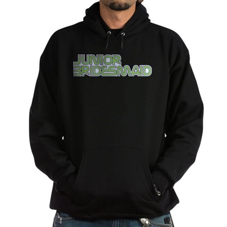 Streamline Green Jr Bridesmai Hoodie (dark)