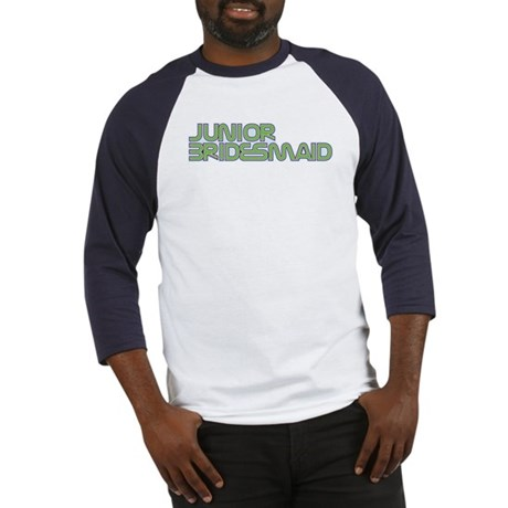 Streamline Green Jr Bridesmai Baseball Jersey