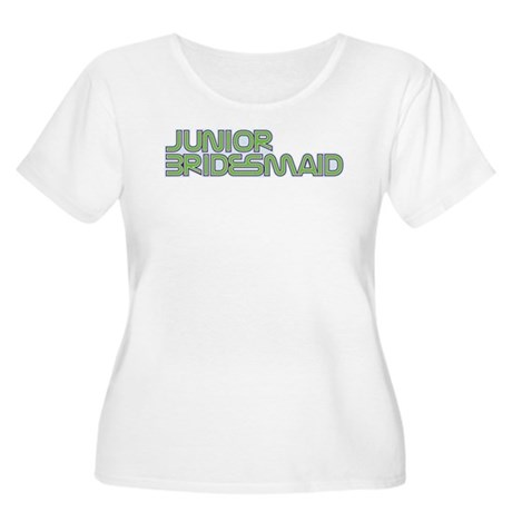 Streamline Green Jr Bridesmai Women's Plus Size Sc