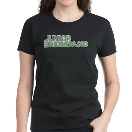 Streamline Green Jr Bridesmai Women's Dark T-Shirt