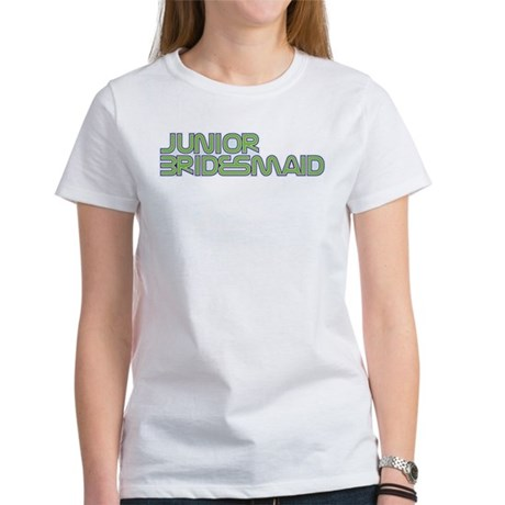 Streamline Green Jr Bridesmai Women's T-Shirt