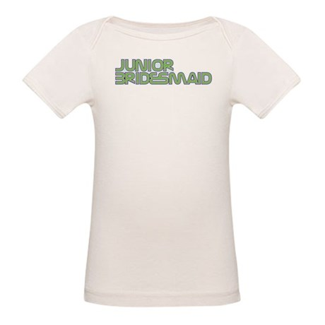Streamline Green Jr Bridesmai Organic Baby T-Shirt