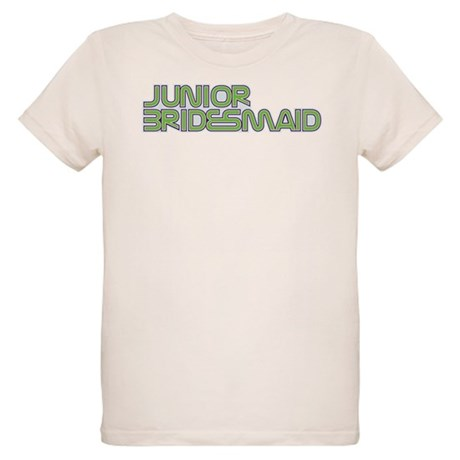 Streamline Green Jr Bridesmai Organic Kids T-Shirt