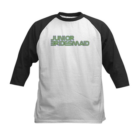 Streamline Green Jr Bridesmai Kids Baseball Jersey