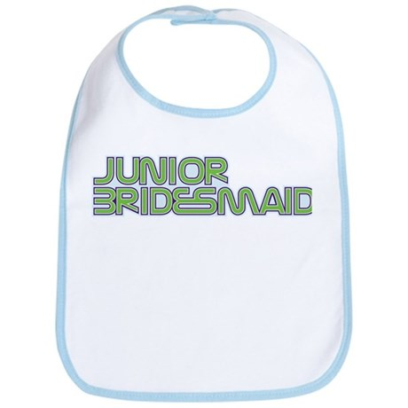 Streamline Green Jr Bridesmai Bib