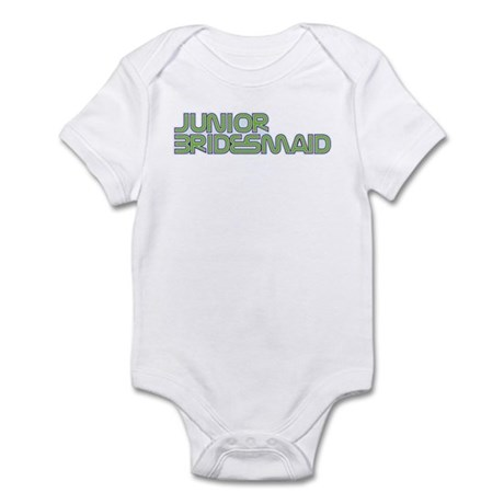 Streamline Green Jr Bridesmai Infant Bodysuit