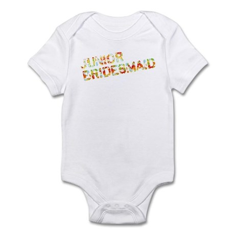Funky Bubbles Jr Bridesmaid Infant Bodysuit