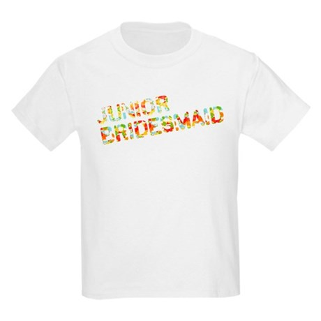 Funky Bubbles Jr Bridesmaid Kids Light T-Shirt