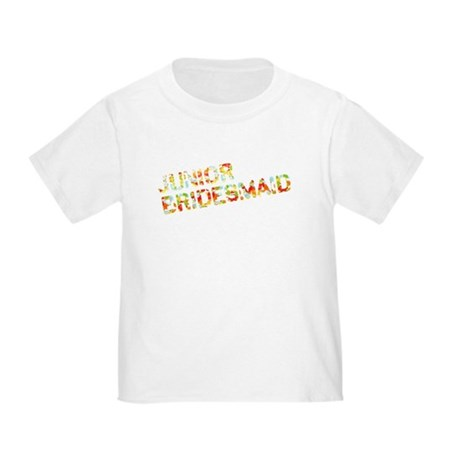 Funky Bubbles Jr Bridesmaid Toddler T-Shirt