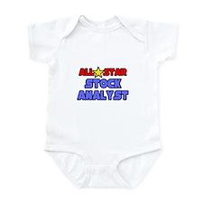 """All Star Stock Analyst"" Infant Bodysuit"
